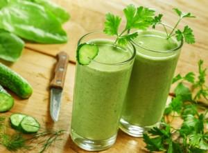 jus verts, juice, régime anti-candida